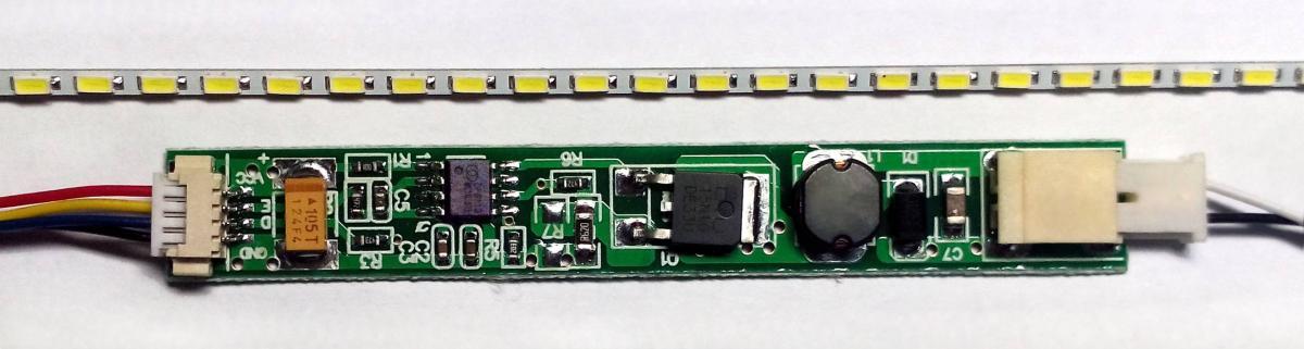 Светодиодная подсветка монитора своими руками