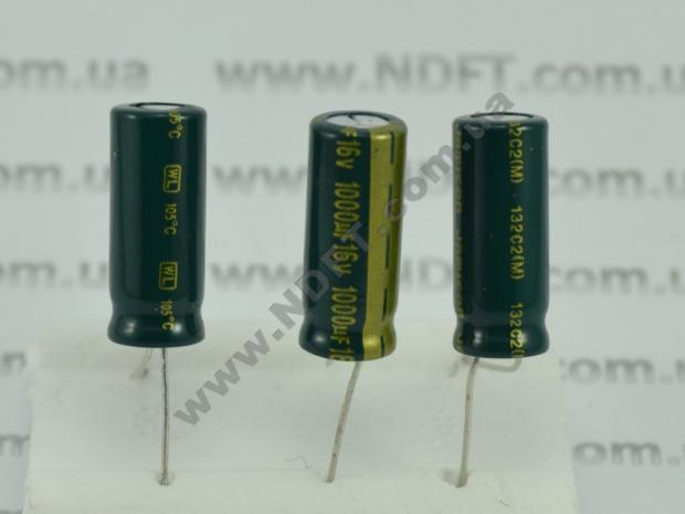 Конденсатор электролитический 1000x16 CapXon
