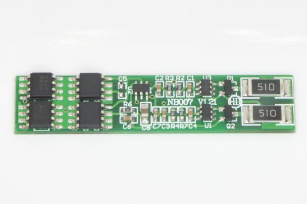 BMS Li-ion 2S 7,4V 15A защита балансир