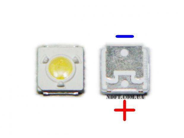 Светодиод LED 3535 LUMENS 3V 1W