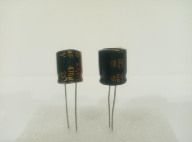 Конденсатор электролитический 470мкФ x 35В Sanyo