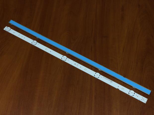 Планка LED подсветки 510мм 3v 5 диодов
