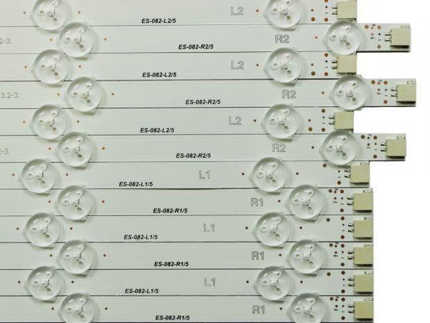 "Комплект подсветки LG 50"" ROW2.1 Rev 0.4"