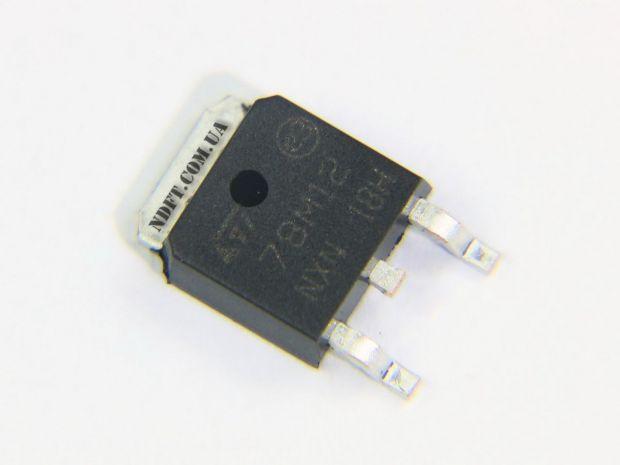 Стабилизатор 78M12 12V 0,5A