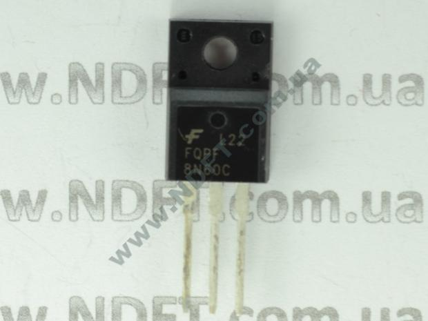 Силовой транзистор 8N60 FQPF8N60C