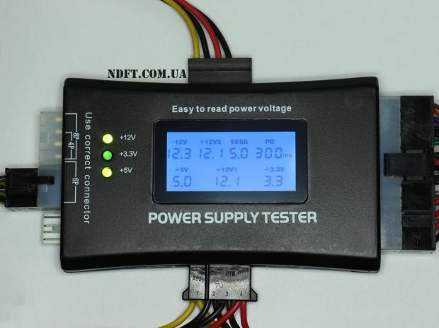 ATX LCD тестер