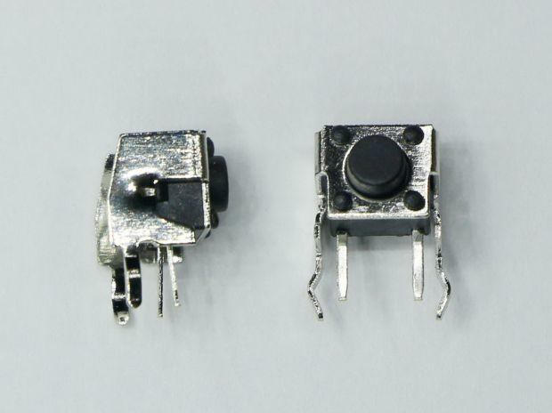 Кнопка угловая DIP 6*6*5 мм