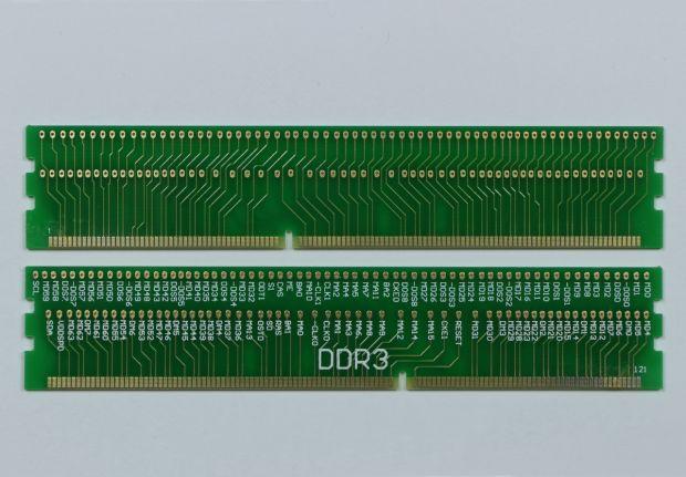 Диагностический переходник под слот DDR3