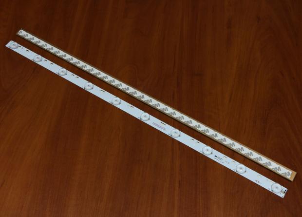 Планка LED подсветки 570мм 3v 10 диодов