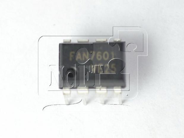 ШИМ контроллер FAN7601 DIP8 (LAF0001)