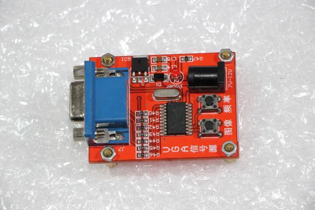 Генератор тестового видеосигнала VGA