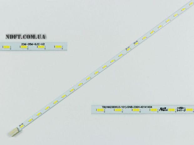 """Подсветка 23.6"""" 24"""" 532mm 56 LED 236-056-GJC-V2"""