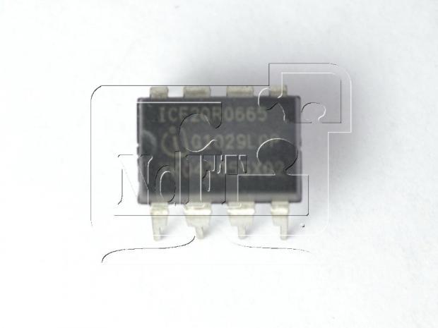 ШИМ контроллер 2QR0665 ICE2QR0665 DIP8