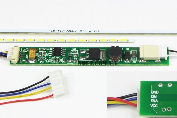 """LED подсветка для ноутбука 22"""" 488mm"""