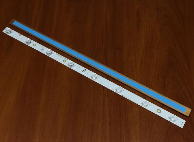 Планка LED подсветки 540мм 3v 8 диодов