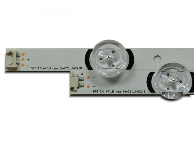 "Планка LG Innotek DRT 3.0 47"" A+B 9 LED 6V"