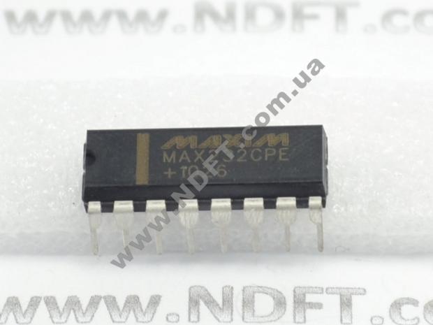 MAX232 (преобразователь RS-232)