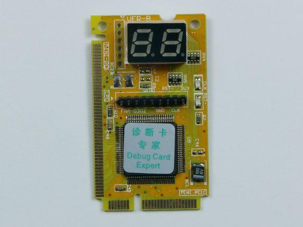 Диагностическая карта MINI POSTCARD PCI-E/PCI + LPC