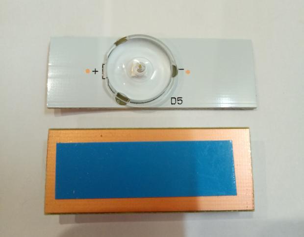 светодиод 6v LED с рассеивателем