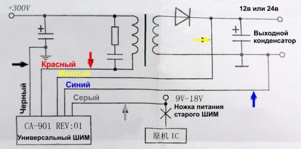 Модуль универсального ШИМ 120w