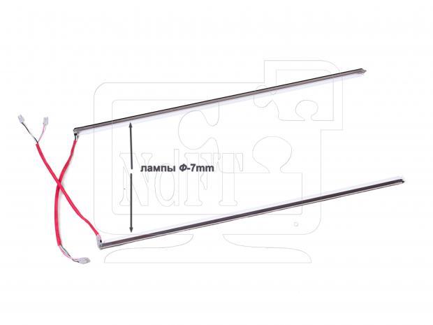 """19""""w комплект CCFL ламп подсветки в касетах (толщина 7mm)"""