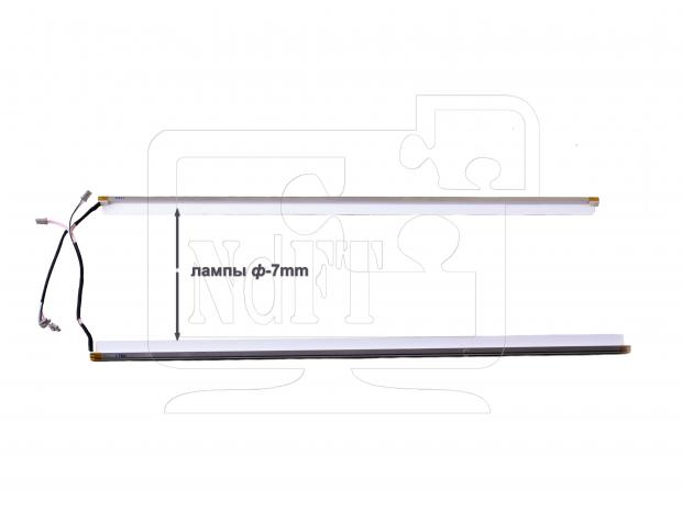 "19"" комплект CCFL ламп подсветки в касетах (толщина 7mm)"