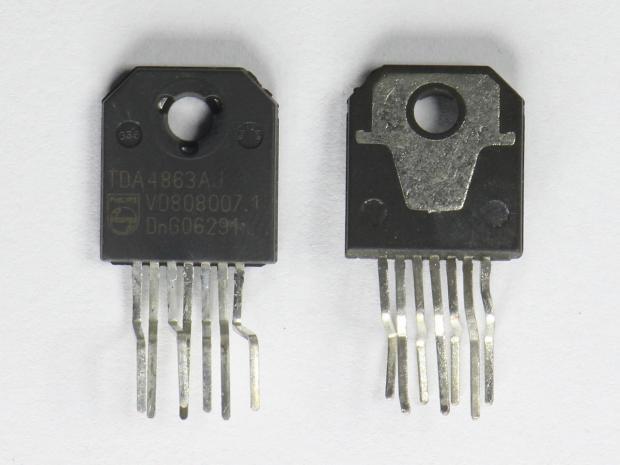 Драйвер кадровой развертки TDA4863 (TDA4863AJ)