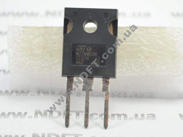 Силовой транзистор STW21NM50N
