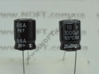 Конденсатор электролитический 1000мкФ x 10В RD Samwha