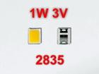 LED 2835 3 В 1 Вт 6500k