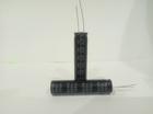 Конденсатор электролитический 100мкФ x 450В KM Acon