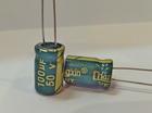 Конденсатор электролитический 100мкФ x 50В Chongx