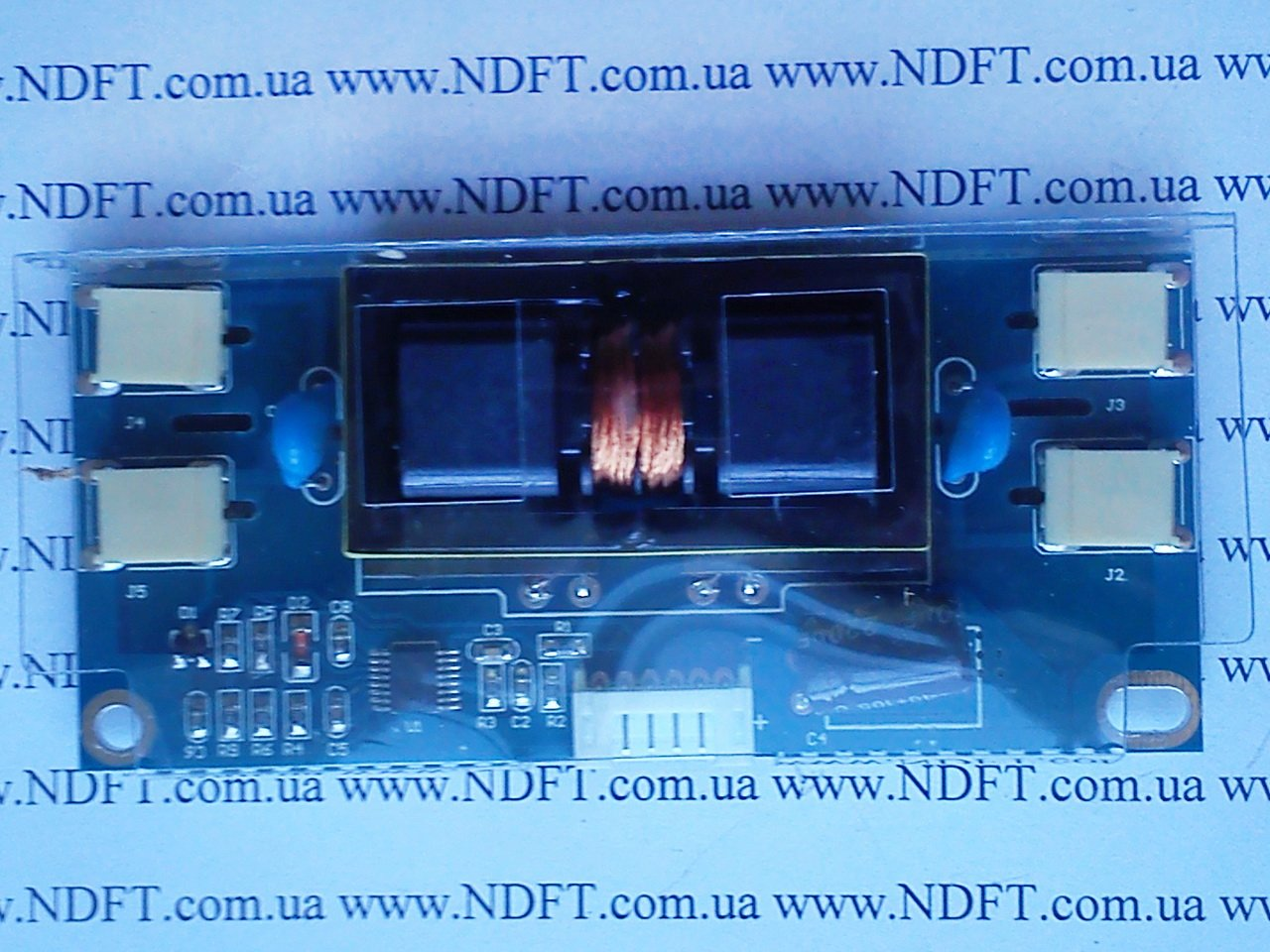 """Универсальный инвертор на 4 лампы 15-24"""" - NdFT Комплектующие для телевизоров и мониторов, светодиоды подсветки, CCFL подсветка, LED"""