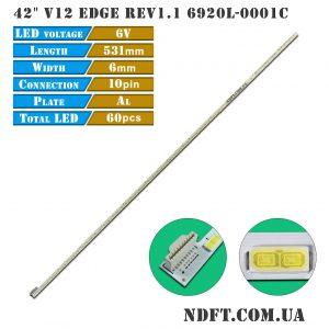 LED Edge strip подсветка