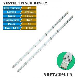 LED подсветка VESTEL 32inch rev0.2 вид1