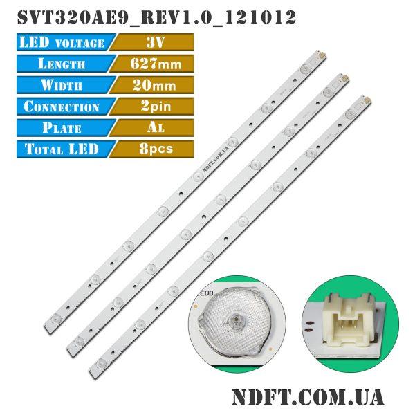 LED подсветка телевизора SVT320AE9-REV1.0-121012 01