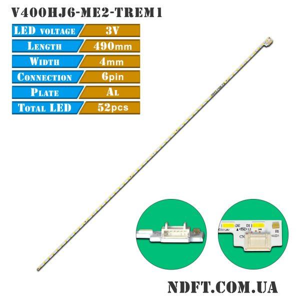 Led подсветка телевизора V400HJ6-ME2-TREM1 01