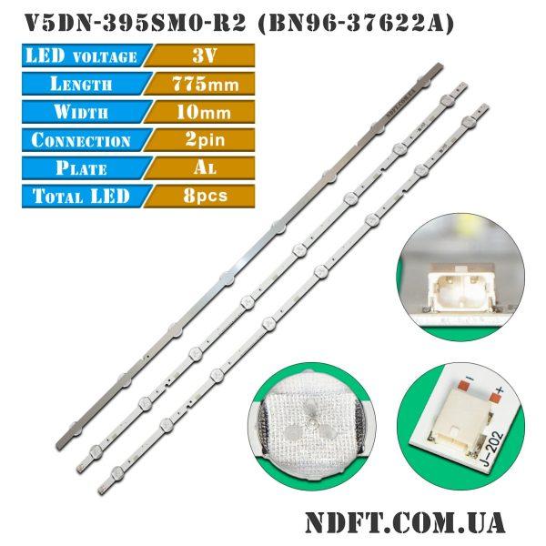 LED-подсветка V5DN-395SM0-R2 V5DN-395SM0-R3 BN96-37622A 01