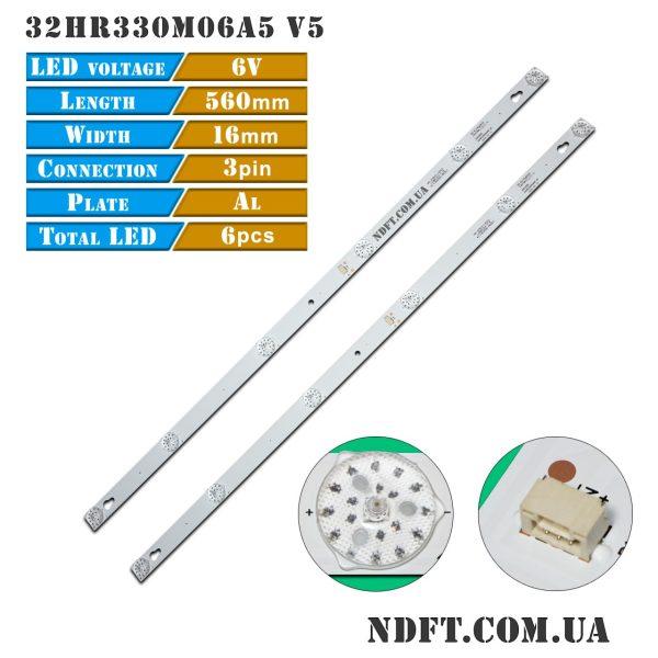 LED подсветка 32HR330M06A5 V5 01