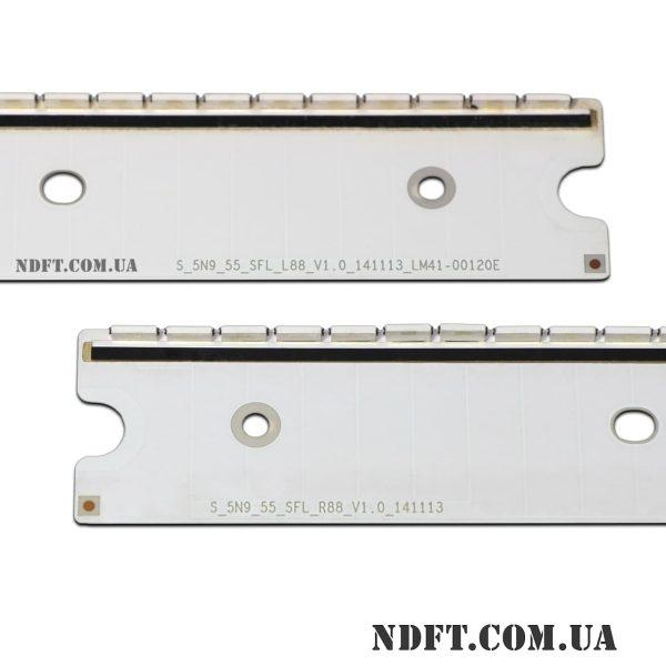 LED подсветка S-5N9-55-SFL-L88-R88-V1.0-141113 V5EU-550SMA-SMB-R1 02