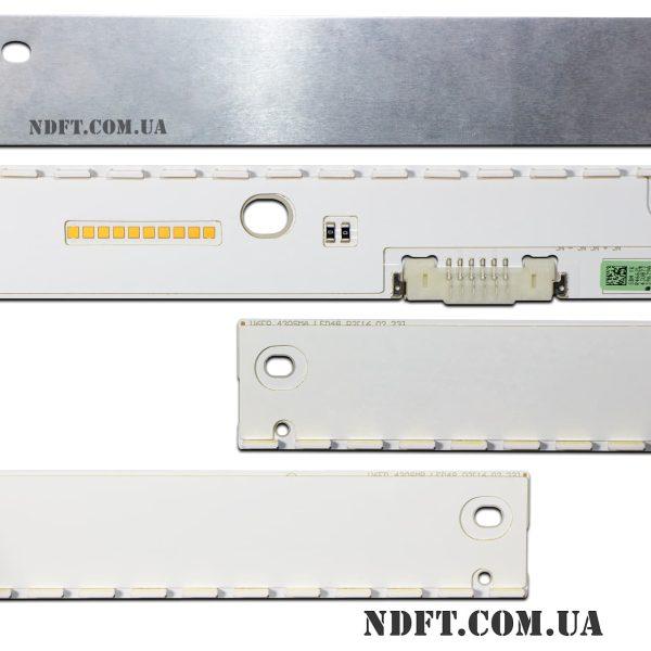 LED подсветка V6ER-430SMA-LED48-R2 V6ER-430SMB-LED48-R2 02