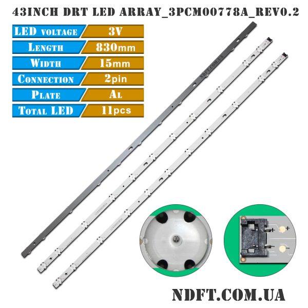 43inch-DRT LED ARRAY_3PCM00778A_Rev0.2_191011 LC43490083A 01