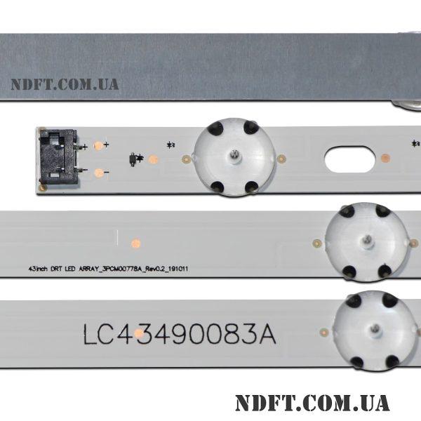 43inch-DRT LED ARRAY_3PCM00778A_Rev0.2_191011 LC43490083A 02