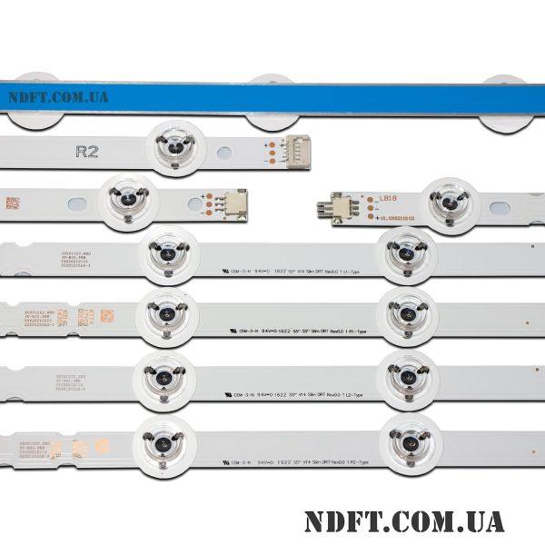LED подсветка 55''-V14-Slim-DRT-Rev0.0 02