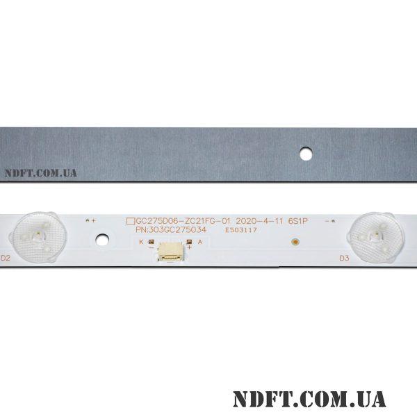 LED подсветка GC275D06-ZC21FG-01 02