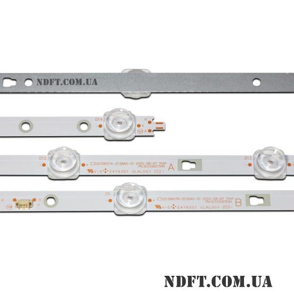 LED подсветка LED39D07A-LED39D07B-ZC26AG-01 02