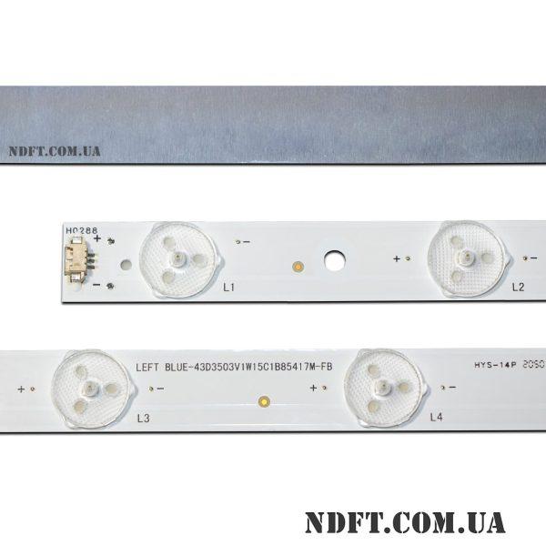 LED подсветка LED42D15-01(C) BLUE-43D3503V1W15C1B8541 02