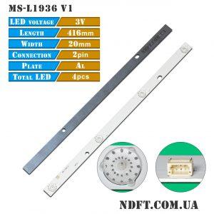 LED подсветка MS-L1936 V1 01