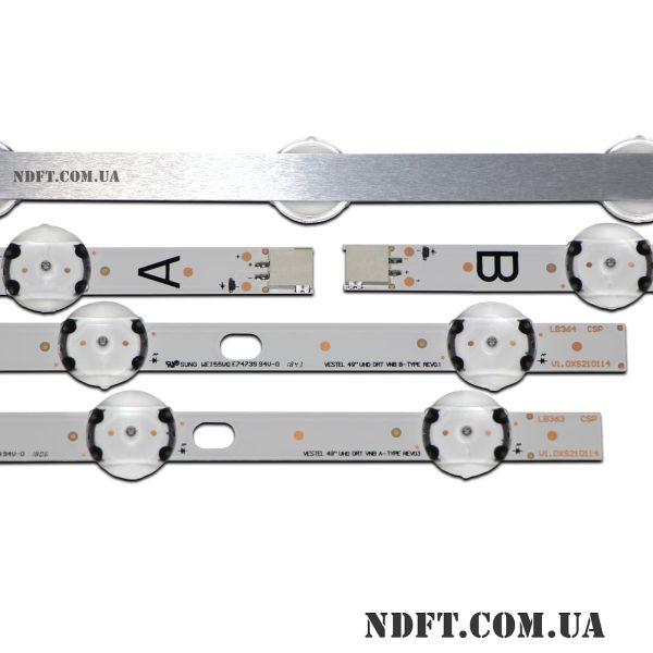 LED подсветка VESTEL-49″ UHD-DRT-VNB 02