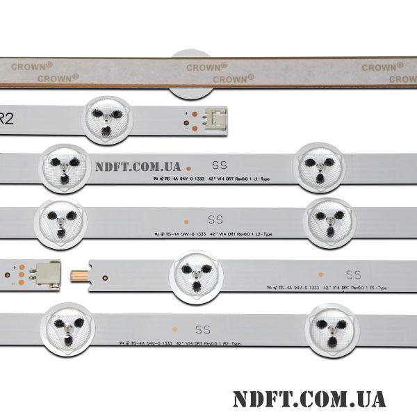 LED подсветка 42″ V14-DRT-Rev0.0 02